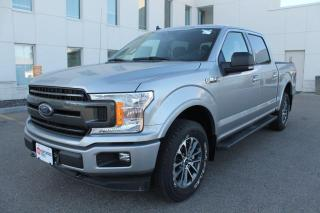 New 2020 Ford F-150 XLT 301A, 4X4 Supercrew, 5.0L V8, Auto Start/Stop, Cruise Control, Pre-Collision Assist, Remote Keyless Entry, Reverse Sensing System, Rear View Camera, Navigation for sale in Edmonton, AB