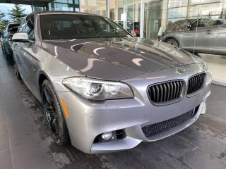 Used 2016 BMW 5 Series 528i xDrive M-SPORT, ONE OWNER, SKYROOF, POWER HEATED LEATHER SEATS, NAVI, REAR VIEW CAMERA for sale in Edmonton, AB