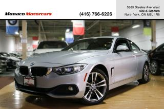 Used 2017 BMW 4 Series 430i xDrive - SUNROOF NAVI BACKUP HEATED SEAT for sale in North York, ON