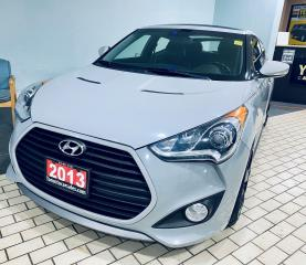 Used 2013 Hyundai Veloster Turbo w/Matte Grey I Nav I Leather IPanoramic Roof for sale in Brampton, ON