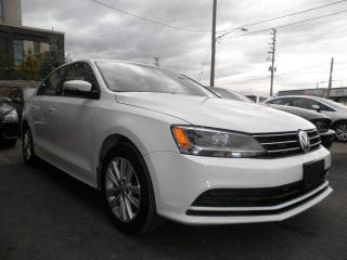 Used 2015 Volkswagen Jetta TRENDLINE+ for sale in Brampton, ON