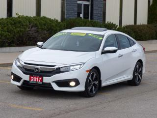 Used 2017 Honda Civic NAVI,TOURING,LEATHER,TOP OF LINE,CERTIFIED,TURBO for sale in Mississauga, ON