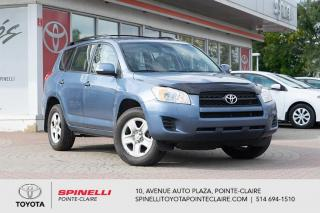 Used 2012 Toyota RAV4 4CYL AWD GROUPE ÉLECTRIQUE, BLUETOOTH for sale in Pointe-Claire, QC