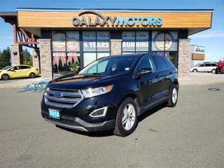 Used 2018 Ford Edge SEL - AWD, Heated Front Seats, Satellite Radio for sale in Courtenay, BC