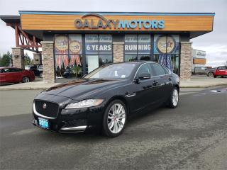 Used 2017 Jaguar XF 35T PRESTIGE - AWD, Navigation, Leather Interior for sale in Courtenay, BC