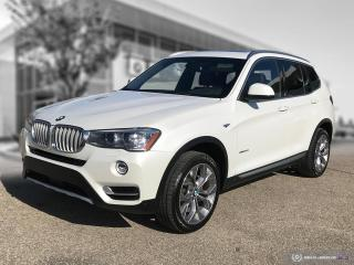 Used 2017 BMW X3 xDrive28i ACCIDENT FREE - DRIVING ASSISTANT PLUS for sale in Winnipeg, MB