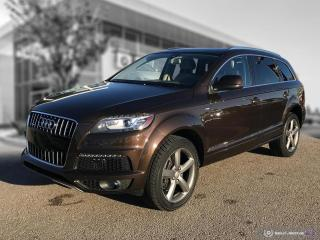 Used 2015 Audi Q7 3.0L TDI Vorsprung Edition ACCIDENT FREE - LOCAL - DIESEL! for sale in Winnipeg, MB
