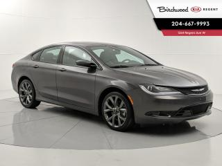 Used 2015 Chrysler 200 S | Panoramic Sunroof | Remote Start | V6 Engine | 2 Sets of Tires | for sale in Winnipeg, MB