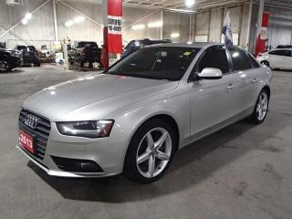 Used 2013 Audi A4 PREM 2.0T AWD  *** LOADED! LOADED! LOADED!!! ** for sale in Nepean, ON