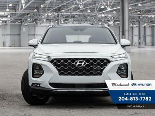 New 2020 Hyundai Santa Fe LUXURY AWD for sale in Winnipeg, MB