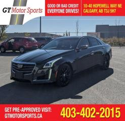 Used 2015 Cadillac CTS Vsport Premium RWD | $0 DOWN - EVERYONE APPROVED! for sale in Calgary, AB