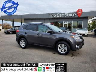 Used 2014 Toyota RAV4 XLE SUNROOF Rear Cam HTD SEAT NO ACCIDENTS! for sale in Winnipeg, MB
