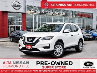 Used 2017 Nissan Rogue S   Heated Seats   Back-UP CAM   Bluetooth for sale in Richmond Hill, ON