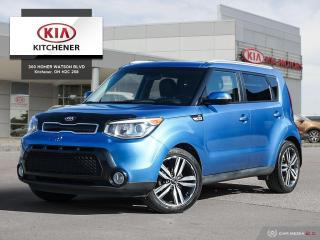 Used 2015 Kia Soul 2.0L SX AT - CARFAX CLEAN!!! for sale in Kitchener, ON