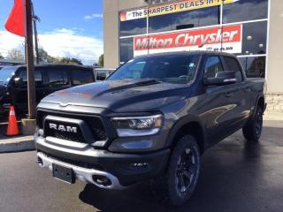 New 2021 RAM 1500 REBEL 4X4 / LEATHER / RAMBOX / PANO ROOF for sale in Milton, ON