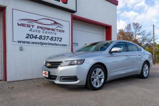 Used 2015 Chevrolet Impala 1LT 40,000 KM * PWR SEAT *B/UP CAM * BLUETOOTH * for sale in Winnipeg, MB