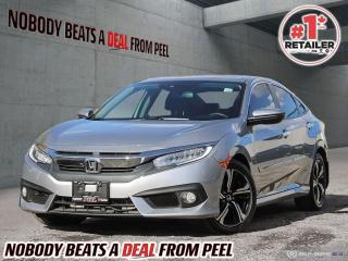 Used 2018 Honda Civic Sedan Touring CVT for sale in Mississauga, ON