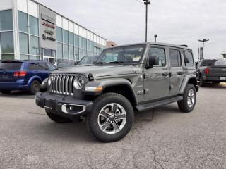 New 2021 Jeep Wrangler Unlimited SKYTOP NAVI LEATHER DARKSADDLE INTERIOR for sale in Pickering, ON