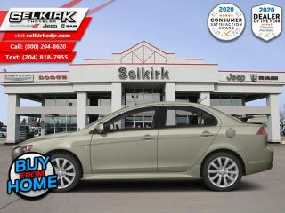 Used 2014 Mitsubishi Lancer GT AWD for sale in Selkirk, MB