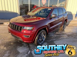 New 2021 Jeep Grand Cherokee 80th Anniversary Edition - Auto-Park Functionality for sale in Southey, SK