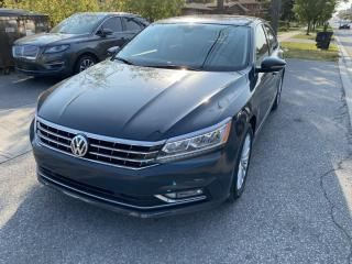Used 2017 Volkswagen Passat 4dr Sdn 1.8 TSI Auto LEATHER SUNROOF for sale in Toronto, ON