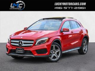 Used 2017 Mercedes-Benz GLA GLA250 4MATIC AMG SPORT PKG-PANOROOF-NAV-CAMERA-65KMS for sale in Toronto, ON