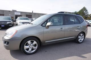 Used 2009 Kia Rondo EX 7 PSSNGRS CERTIFIED 2YR WARRANTY BLUETOOTH SUNROOF HEATED LEATHER CRUISE ALLOYS for sale in Milton, ON