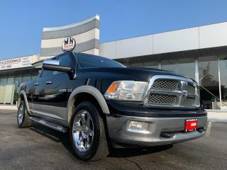 Used 2010 Dodge Ram 1500 Laramie 4WD 5.7L V8 LEATHER SUNROOF NAVI CAMERA for sale in Langley, BC