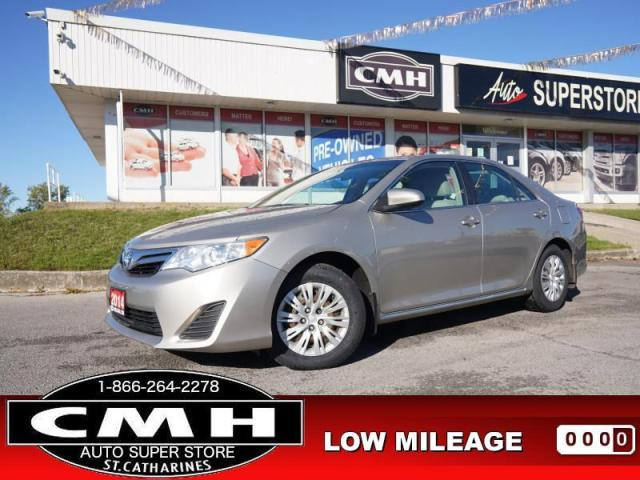 2014 Toyota Camry LE  CAM BT HTD-SEATS PWR-GROUP