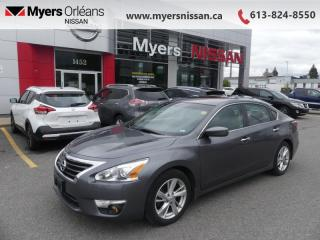 Used 2015 Nissan Altima 2.5 SV  - Sunroof -  Bluetooth - $118 B/W for sale in Orleans, ON