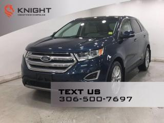 Used 2017 Ford Edge Titanium AWD | Leather | Sunroof | Navigation | for sale in Regina, SK