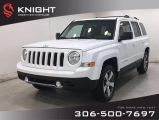 Used 2016 Jeep Patriot High Altitude 4x4 | Leather | Sunroof | Navigation | for sale in Regina, SK