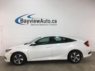 Used 2019 Honda Civic LX - AUTO! HONDA LINK! ADAPTIVE CRUISE! PWR GROUP! for sale in Belleville, ON