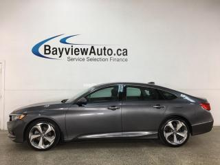 Used 2019 Honda Accord Touring 1.5T - HTD/COOLED LEATHER! NAV! SUNROOF! HONDA LINK! LOADED! for sale in Belleville, ON