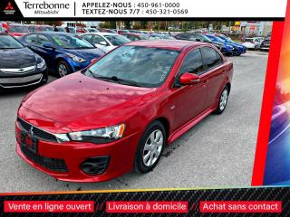 Used 2017 Mitsubishi Lancer ES**AUTO**BLUETOOTH**CAMÉRA RECUL**BANCS CHAUFFANT for sale in Terrebonne, QC