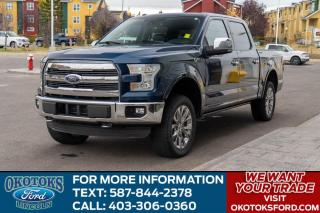 Used 2016 Ford F-150 Lariat 502A/PWR BOARDS/SUN ROOF/TECH for sale in Okotoks, AB