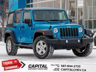 Used 2015 Jeep Wrangler UNLIMITED SPORT for sale in Calgary, AB