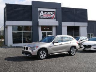 Used 2012 BMW X1 Vendu, sold merci for sale in Sherbrooke, QC