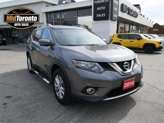 Used 2016 Nissan Rogue SV | AWD | NAVI | PANO ROOF | NO ACCIDENTS | LOW MILEAGE | WELL KEPT for sale in North York, ON
