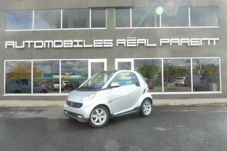 Used 2015 Smart fortwo PASSION - AUTO - TOIT - 31 777 KM - for sale in Québec, QC
