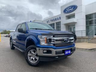 Used 2018 Ford F-150 XLT XTR 4x4/Navi/18 Wheels/Rear View Camera for sale in St Thomas, ON