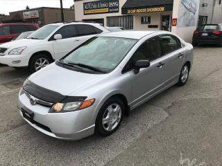 Used 2006 Honda Civic DX-G SOLD SOLD for sale in Etobicoke, ON
