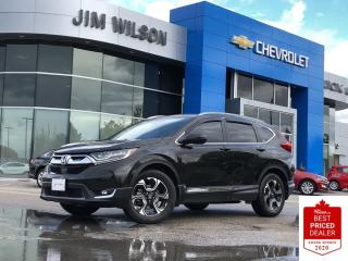 Used 2017 Honda CR-V Touring AWD TOURING LEATHER ROOF NAV HEATED STEERING WHEEL for sale in Orillia, ON