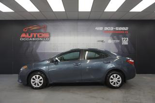 Used 2016 Toyota Corolla CE AUTOMATIQUE AIR CLIMATISÉ BLUETOOTH 102 052 KM for sale in Lévis, QC