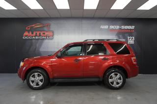 Used 2012 Ford Escape AWD XLT AUTO MAGS BLUETOOTH DÉMARREUR 116 720 KM for sale in Lévis, QC