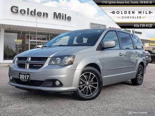 Used 2017 Dodge Grand Caravan GT R/T Ex-rental, Clean Carfax, Leather for sale in North York, ON