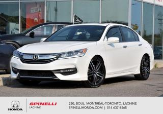 Used 2017 Honda Accord Sport MANUELLE RARE TOIT MAGS MANUELLE MAGS 19'' TOIT OUVRANT CAM RECUL BLUETOOTH++ for sale in Lachine, QC