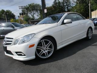 Used 2011 Mercedes-Benz E-Class E350|CONVERTIBLE|NAVIGATION|3 YEARS WARRANTY AVAIL for sale in Burlington, ON