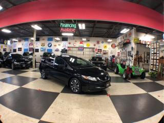 Used 2015 Honda Civic Sedan EX 5SPEED A/C SUNROOF BACKUP CAMERA BLUETOOTH SPOILER for sale in North York, ON