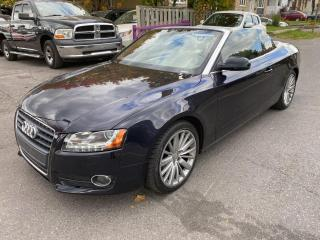 Used 2012 Audi A5 2dr Cabriolet Auto 2.0L Premium for sale in Ottawa, ON